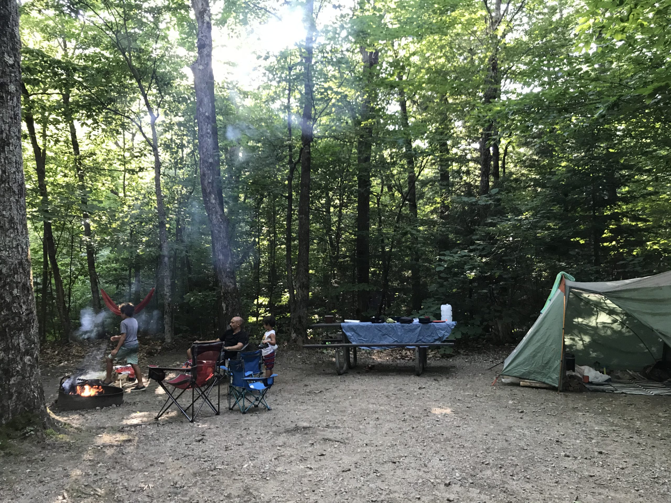 Camping at Dry River Campground, Crawford Notch State Park   The ...